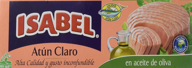 Isabel Atún Claro en Aceite de Olivam Paquete de 3 x 52g