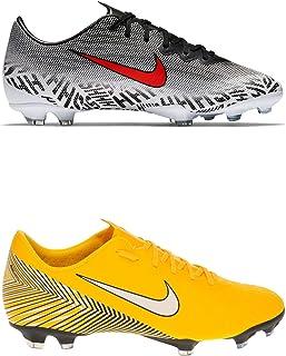 Official Brand Nike Mercurial Vapor Elite Neymar Firm Ground Football Boots Juniors Soccer