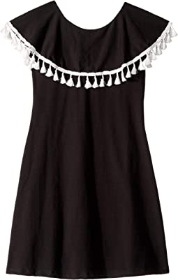 Ruffle Collar Dress (Toddler/Little Kids/Big Kids)