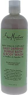 Shea Moisture Raw & Cupuacu Daily Defense Body Wash for Unisex, 16 Ounce