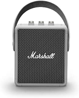 Marshall Stockwell II Portable Bluetooth Speaker Grey
