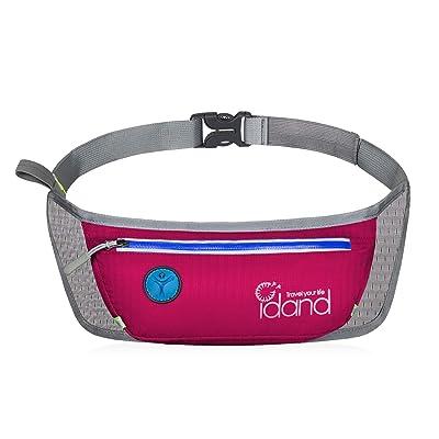 IDAND Running Belt Waist Pack Water Resistant R...