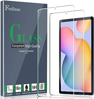 Ferilinso [2 Piezas] Protector de Pantalla para Samsung Galaxy Tab S6 Lite, Cristal Templado Vidrio Templado, [Compatible ...