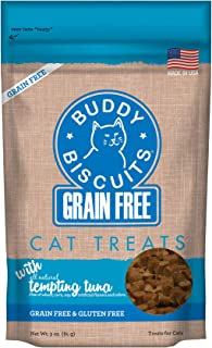 Cloud Star Grain Free Buddy Biscuits for Cats, Tempting Tuna