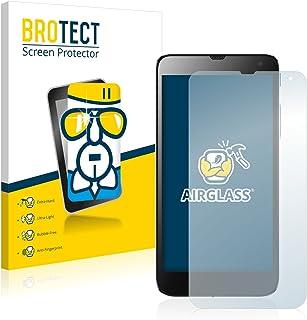 BROTECT Protector Pantalla Cristal Compatible con Hisense HS-U970 Protector Pantalla Vidrio Dureza 9H AirGlass