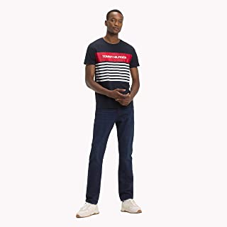 TOMMY HILFIGER Men's Pure Cotton Logo T-Shirt