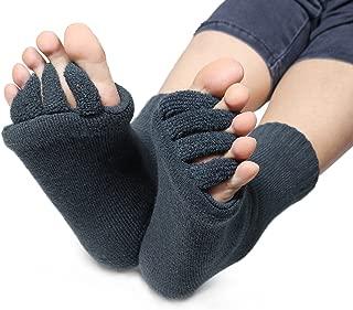 DevsWear Alignment Socks Open Toe Separator Spacer Pain Relief Yoga Gym Pedicure