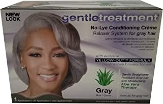 No Lye Conditioning Crème Relaxer for Gray Hair