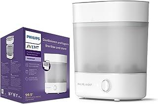Philips Avent Sterilisator för nappflaskor, Dödar 99,9 % av skadliga bakterier, Plats för upp till 6 Philips Avent-flasko...
