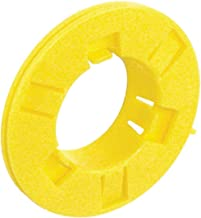 12 Pcs, Universal Metal Stud Grommet, Yellow Plastic Used to Protect Wires From Damage