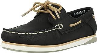 Timberland Atlantis Break Boat Shoe Noir Full Grain Cuir 41½ EU