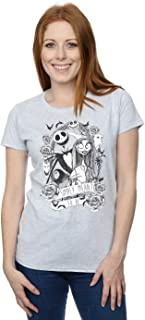 Disney Women's Nightmare Before Christmas Simply Meant to Be T-Shirt