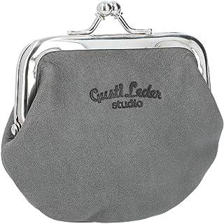 """Portamonete - Gusti -""""Frida"""" borsellino portamonete monete vintage vera pelle festa disco pratico unisex piccolo nero 2A11..."""