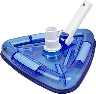 Poolmaster 27514 Clear-View Triangular Aspiradora para Revestimiento de Vinilo en el Piso o sobre el Piso, Piscinas, colec...