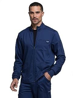 Cherokee Workwear Revolution Men's Zip Front Scrub Jacket