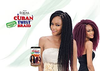 Freetress Equal Synthetic Hair Braids Havana Twist Style Cuban Twist 16