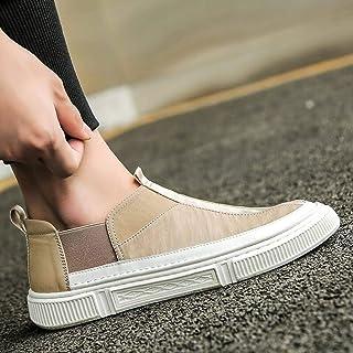 N-B Scarpe di Tela Coreane Estive Scarpe Basse da Uomo con Pannelli di Stoffa Scarpe alla Moda da Uomo Copriscarpe Scarpe ...