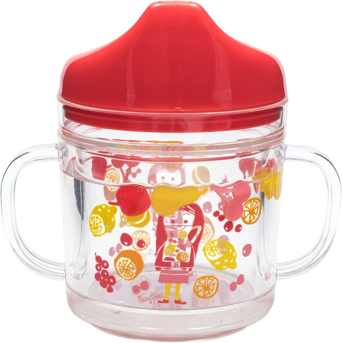 World of Mary Blair MB76747SIPCP Child's Regular discount Outlet SALE Red Yellow Cup Sippy P