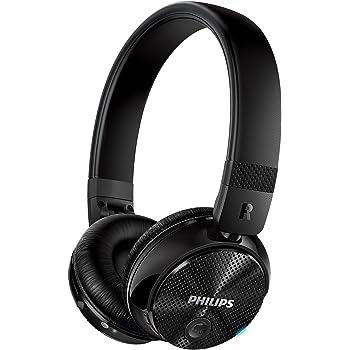 Philips SHB8750NC/27 Wireless Noise Canceling Headphones, Black