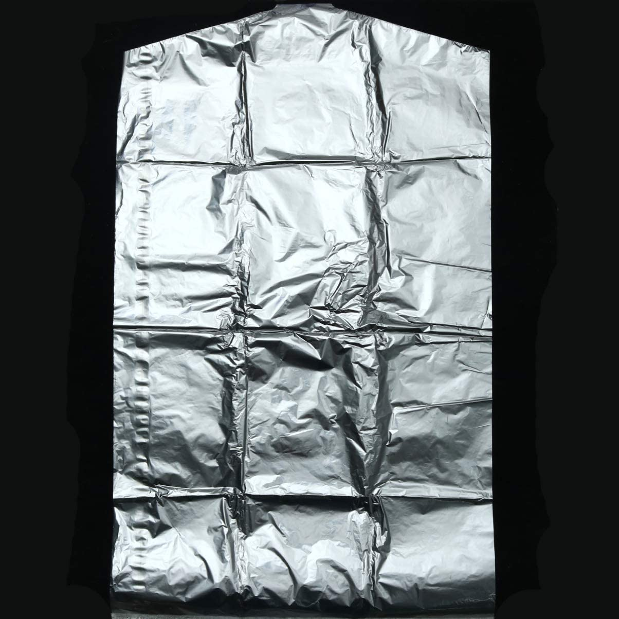 Hemoton 50 Piezas 60X90cm Bolsa de Ropa Ropa Transparente Cubierta Antipolvo Ropa Colgante Desechable Traje Vestido Chaqueta Cubierta para Tintorer/ía Almacenamiento en El Hogar Armario de