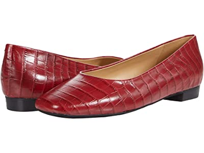 Trotters Honor (Red Croco Leather) Women