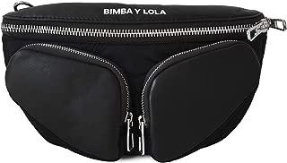 S black leather crossbody bag 192BBNA2X