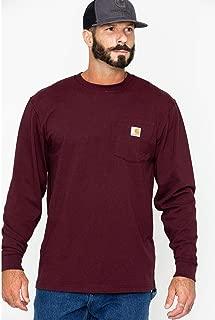Men's Workwear Jersey Pocket Long-Sleeve Shirt K126 (Regular and Big & Tall Sizes)