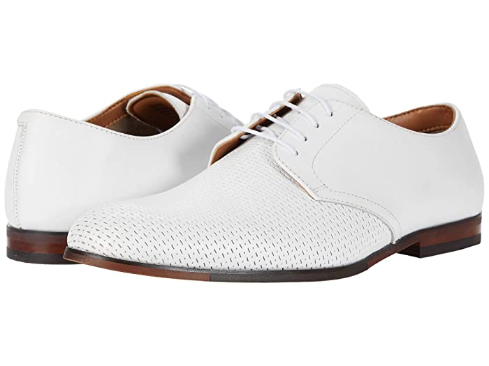 Mens Retro Shoes | Vintage Shoes & Boots Steve Madden Elixer Oxford White Leather Mens Shoes $99.90 AT vintagedancer.com