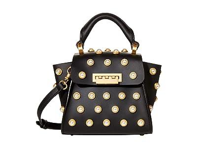 ZAC Zac Posen Eartha Iconic Top-Handle Mini (Black 2) Top-handle Handbags
