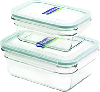 Best glasslock 4 piece rectangle oven safe container set Reviews