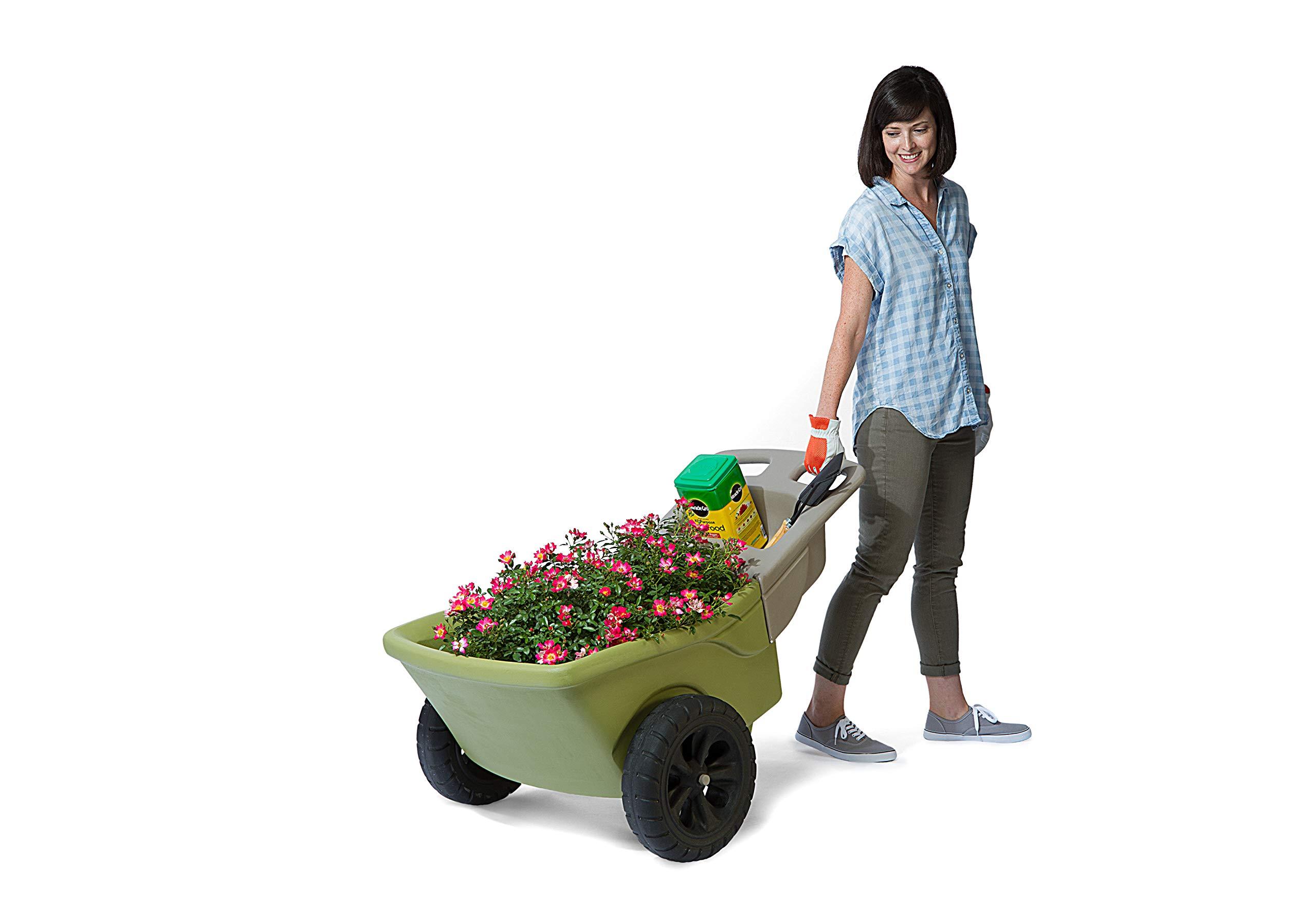 Simplay3 Plastic Wheelbarrow Storage Capacity