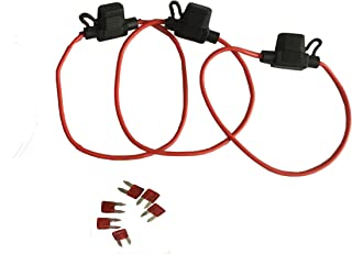 KOLACEN Automotive Car Truck in-line 16 Gauge Fuse Holder...
