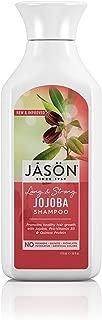 Jason Natural Products Pure Natural Shampoo, Long and Strong Jojoba, 16 Fluid Ounce