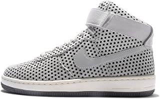 NIKE Womens Air Force 1 Ultra Force Mid Pure Platinum/Pure Platinum