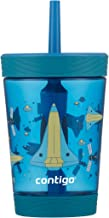 Contigo Spill-Proof Tumbler with straw, 14 oz, Gummy & Spaceship