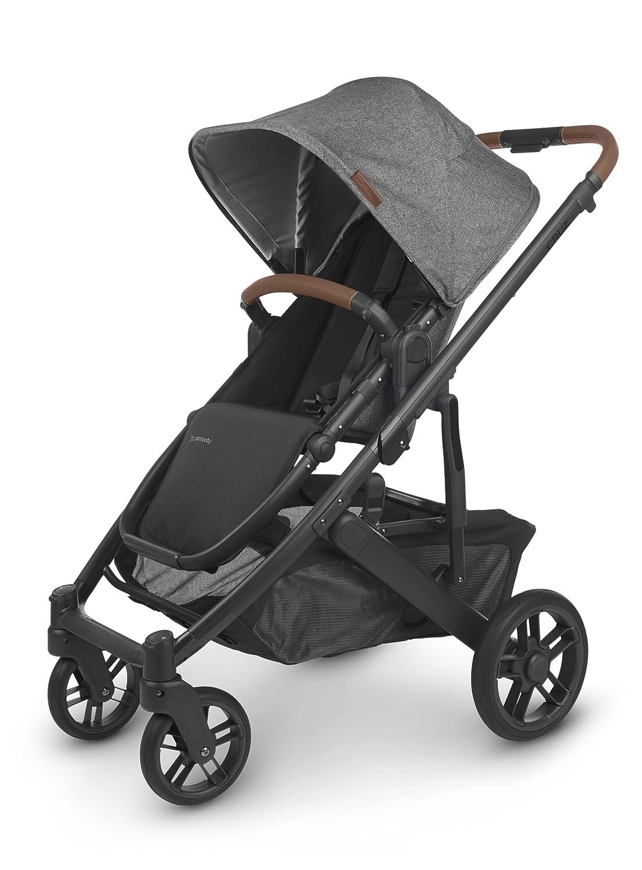 Cruz V2 Stroller - Greyson (Charcoal mélange/Carbon/Saddle Leather)