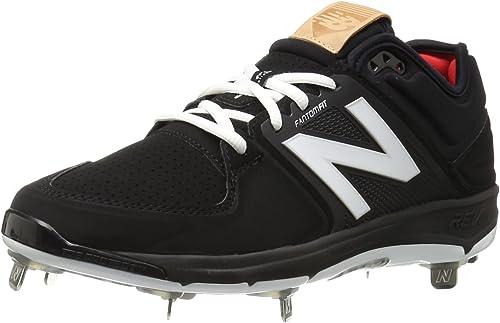 New Balance Men& 039;s L3000V3 Baseball schuhe, schwarz schwarz, 7 2E US