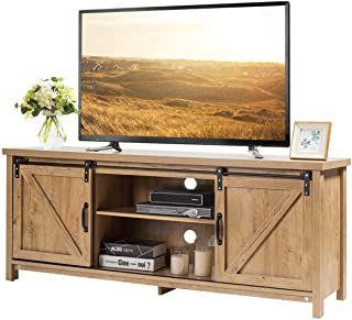 Television Stands 60 To 64 Inches Television Stands Entertainment Centers Home Kitchen