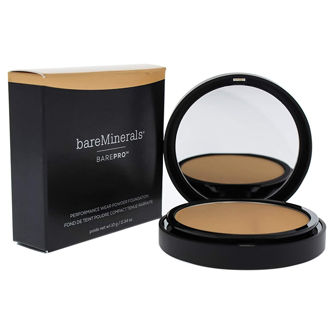大破デュアル愛ベアミネラル BarePro Performance Wear Powder Foundation - # 13 Golden Nude 10g/0.34oz並行輸入品
