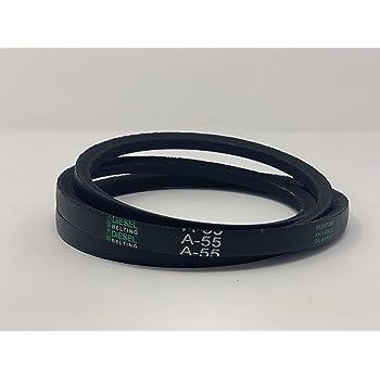 A//4L Belt Cross Section Rubber 47 Length 47 Length D/&D PowerDrive KK5705475AR62 General Electric Replacement Belt