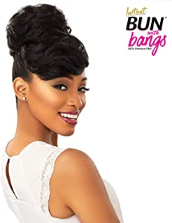 Sensationnel 100% PREMIUM SYNTHETIC HAIR INSTANT BUN WITH BANGS - CARLA - 4