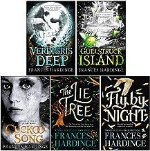 Frances Hardinge Collection 5 Books Set (Gullstruck Island, Verdigris Deep, Cuckoo Song, The Lie Tree, Fly By Night)