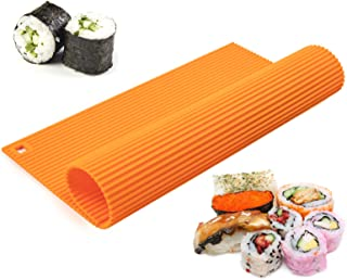 DIY K/üche somubi 10-teiliges tragbares Sushi-Kimbab-Maker-Set f/ür Reisrollen Backwaren K/üchenutensilien.