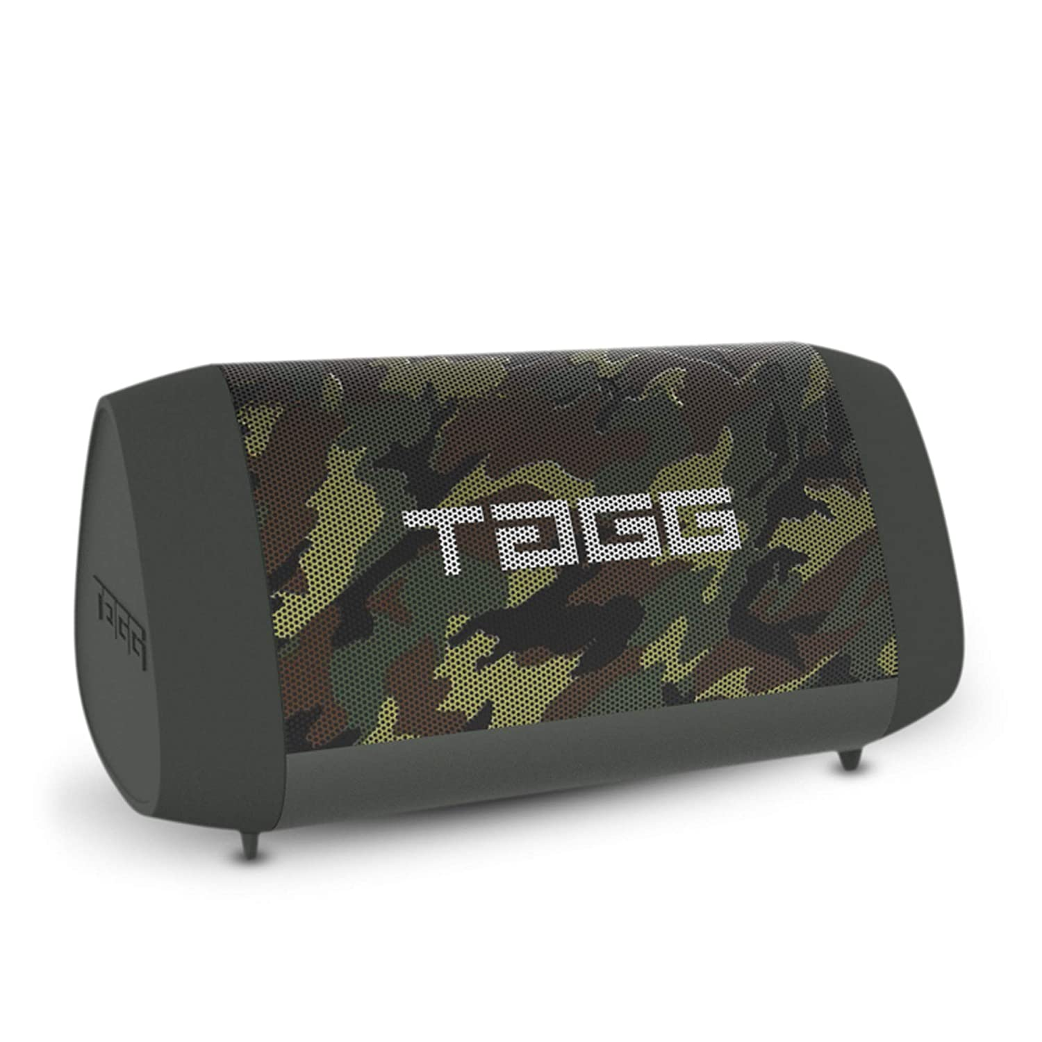 TAGG Sonic Angle 1 IPX5 Water Resistant Wireless Portable Bluetooth Speaker with Microphone