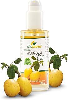 Certified Organic Cold Pressed Marula Cosmetic Oil 100ml
