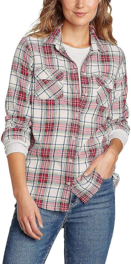 Eddie Bauer Womens Firelight Flannel Shirt