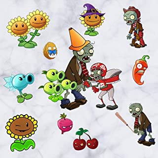 CYSDN Wall Sticker Plants vs Zombies Living Room Bedroom Background Decoration, Size: 30x60CM
