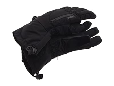 Dakine Syncro Wool Liner Gloves (Gunmetal) Extreme Cold Weather Gloves