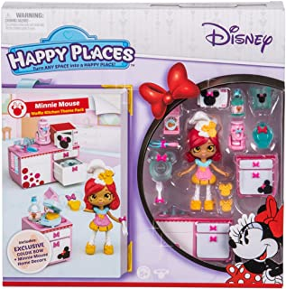 Happy Places Disney Season 1 Minnie Mouse Waffle Kitchen Theme Pack