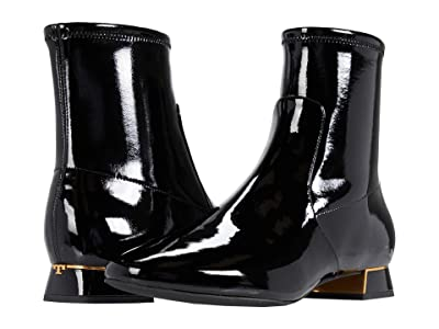 Tory Burch 20 mm Gigi Stretch Bootie (Perfect Black) Women